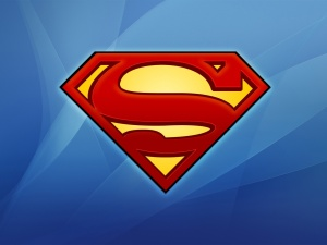 Superman logo nice background
