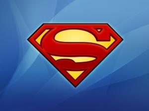 Superman logo nice background